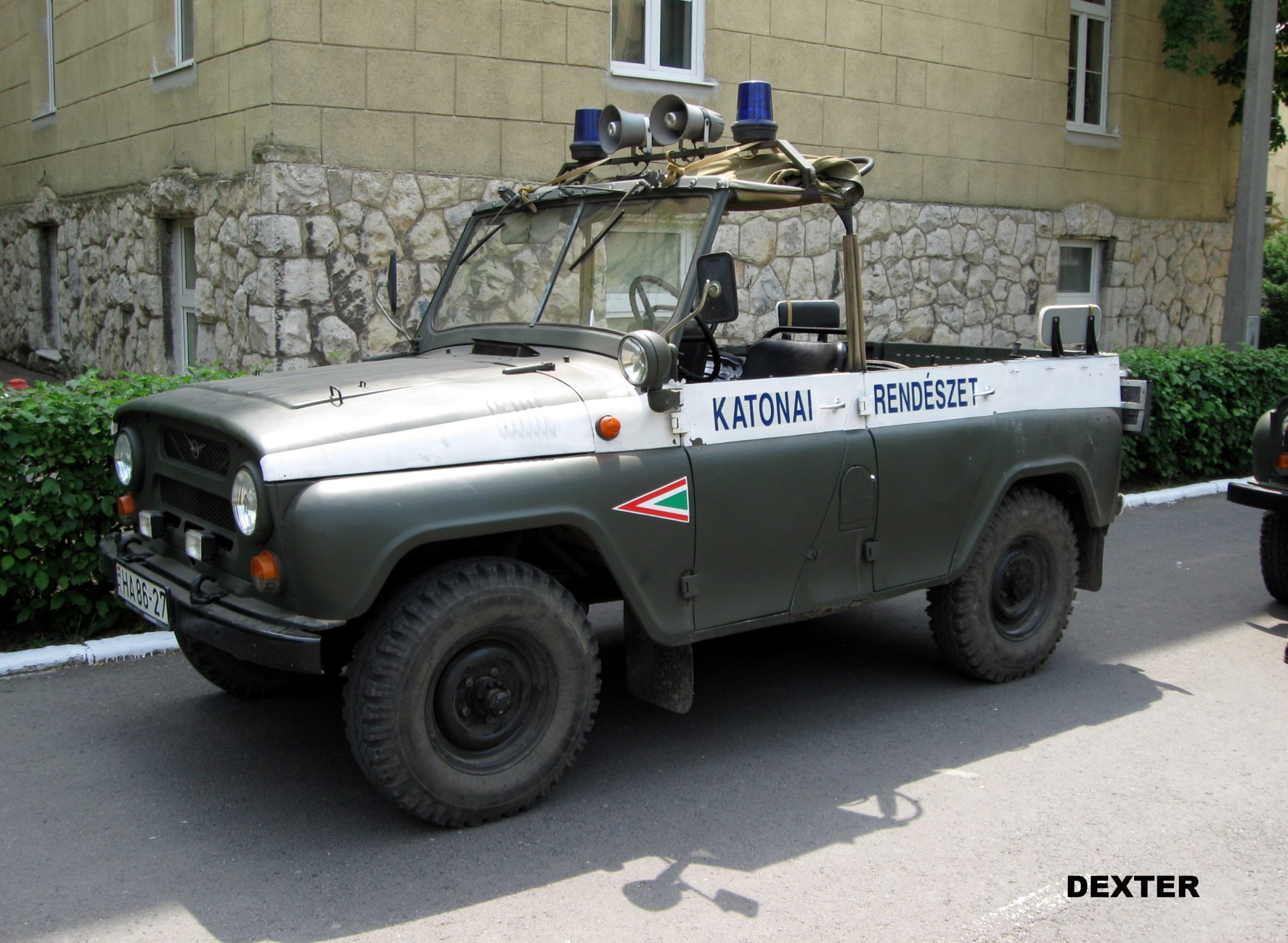 military police cars